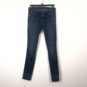 Ksubi mid rise blue skinny jeans
